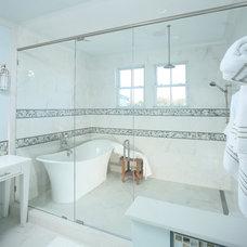 Beach Style Bathroom by Spivey Architects, Inc.