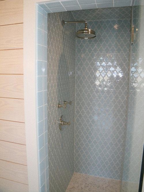 Arabesque Shaped Tile Home Design Ideas Renovations Amp Photos