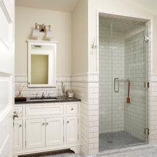 Traditional Bathroom by Ingrained Wood Studios