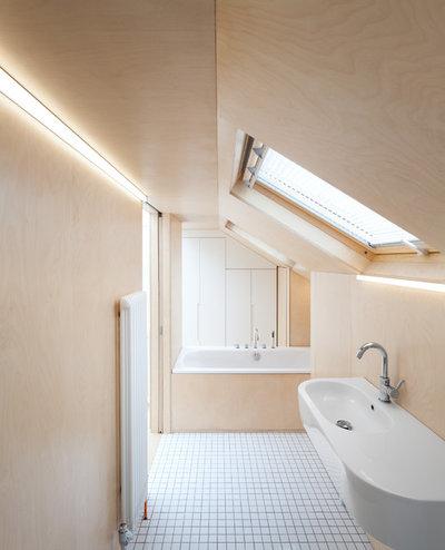 Contemporáneo Cuarto de baño by Azman Architects