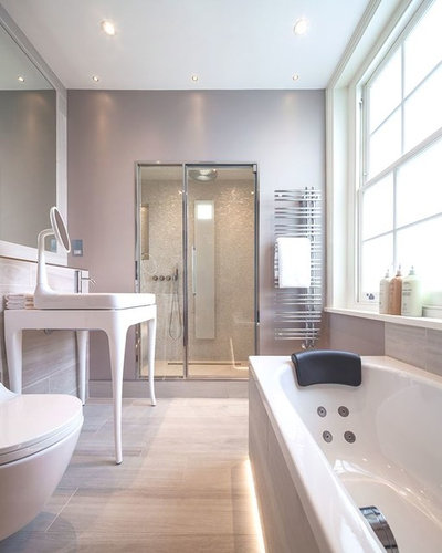 Traditional Contemporary Bathrooms Ltd: How To Work The Mix-and-match Trend In Your Bathroom