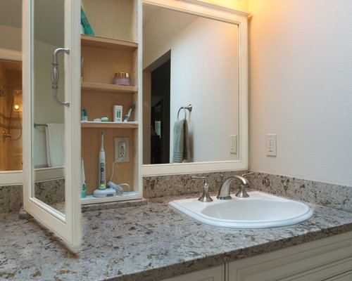 Hidden Bathroom Electrical Outlets | Houzz