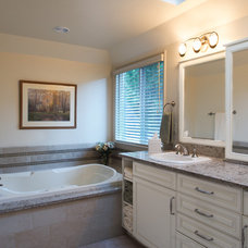 Traditional Bathroom by A Kitchen That Works LLC