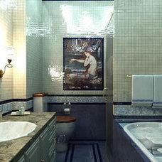 Contemporary Bathroom Italian Bathroom