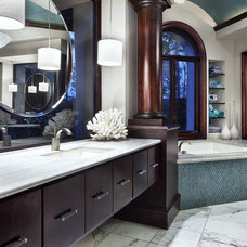 Contemporary Bathroom by JAUREGUI Architecture Interiors Construction