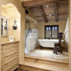 Mediterranean Bathroom Italian Retreat