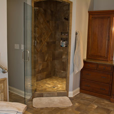 Traditional Bathroom by Master Custom Home Remodeling