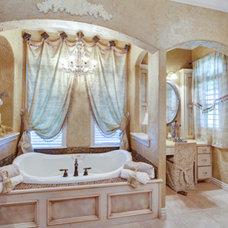 Mediterranean Bathroom by Michael Garabedian