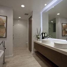 Contemporary Bathroom by ADO:Ashworth Design Office