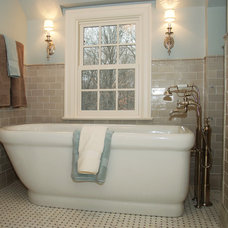 Traditional Bathroom by J Korsbon Designs