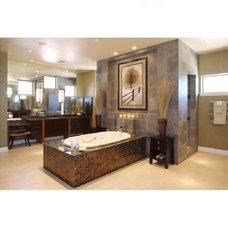 Asian Bathroom by DIVA INTERIOR CONCEPTS