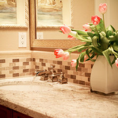 mediterranean bathroom by Interior Designs San Diego