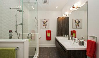Jack and Jill Children's Bathroom