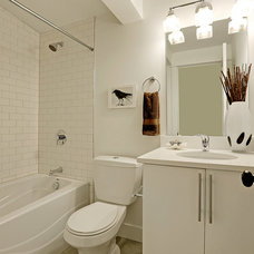 Contemporary Bathroom by Green Canopy Homes