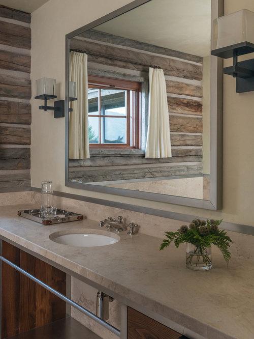 Ideas para cuartos de baño | Fotos de cuartos de baño rústicos en ...