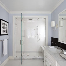 traditional bathroom by Upscale Construction
