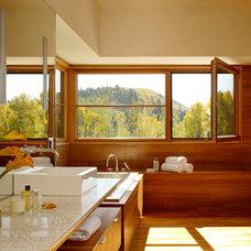 Contemporary Bathroom by Magni Inc