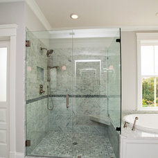 Eclectic Bathroom by JacksonBuilt Custom Homes