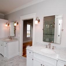 Eclectic Bathroom by JacksonBuilt Custom Homes