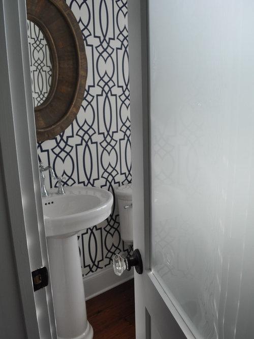 Sherwin Williams Wallpaper Bathroom Design Ideas, Remodels & Photos