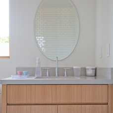 Contemporary Bathroom by Building Solutions and Design, Inc