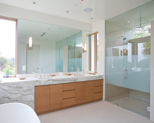 mid century modern bathroom design ideas remodel pictures houzz
