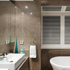 Contemporary Bathroom by JADO DECOR PTY LTD