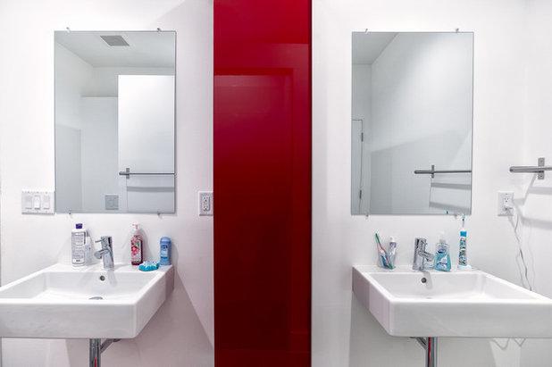 Spectacular Contemporary Bathroom by Park City Design Build