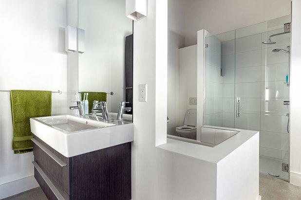 Perfect Contemporary Bathroom by Park City Design Build