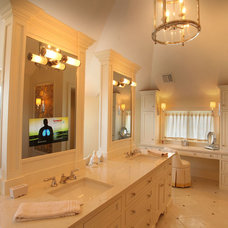 Traditional Bathroom by Current Concepts Home Automation