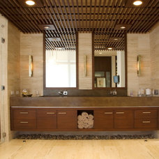 contemporary bathroom by jamesthomas, LLC