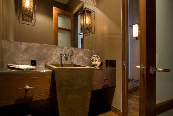 Contemporary Bathroom by jamesthomas, LLC
