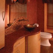 Contemporary Bathroom by BlueStone Interiors