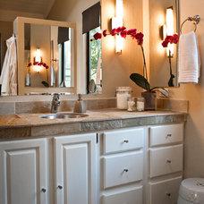 Eclectic Bathroom by Jane Ellison