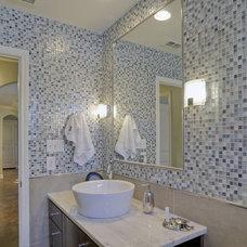 Tropical Bathroom by Jane Haley LLC