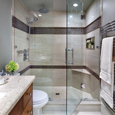 Contemporary Bathroom by Jane Lockhart Interior Design