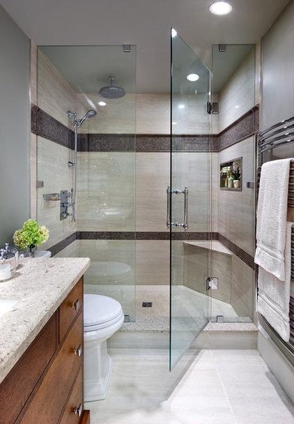 Contemporary Bathroom by Jane Lockhart Interior Design
