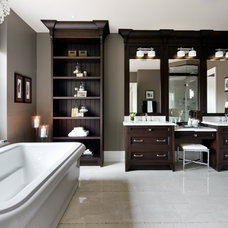 Eclectic Bathroom by Cercan Tile Inc.
