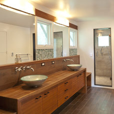 Asian Bathroom by Light House Design