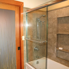 Asian Bathroom by A D Construction - Building & Design