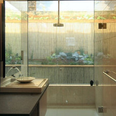 Asian Bathroom by Mark Brand Architecture