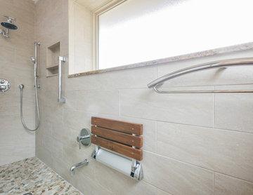 Japanese Inspired Walk-In Shower