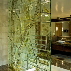 Contemporary Bathroom by Annah James Studios LLC