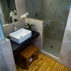 asian bathroom by BiglarKinyan Design Planning Inc.