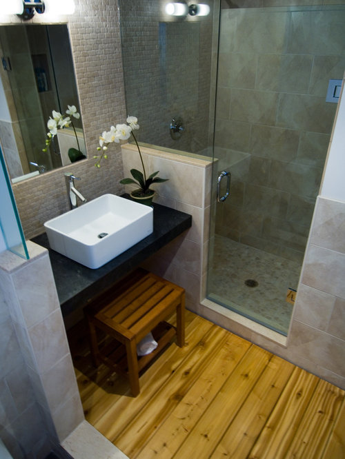 Small half bath ideas home design ideas pictures remodel for Asian small bathroom design
