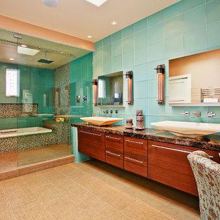 Bathroom - zen bathroom idea in San Diego