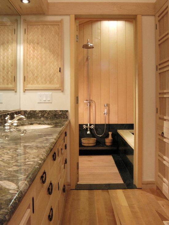 Perfect SaveEmail. Ki Arts. Japanese Style Master Bathroom