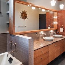 Modern Bathroom by CG&S Design-Build