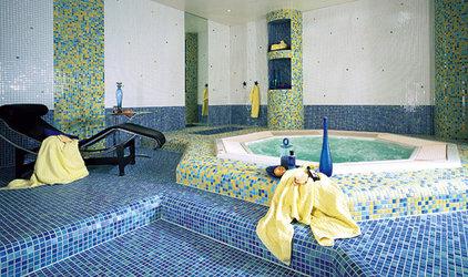 Mediterranean Bathroom by CheaperFloors