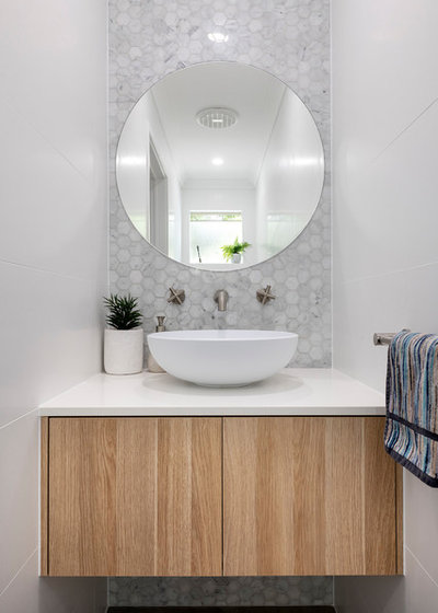 Contemporary Bathroom by Western Cabinets